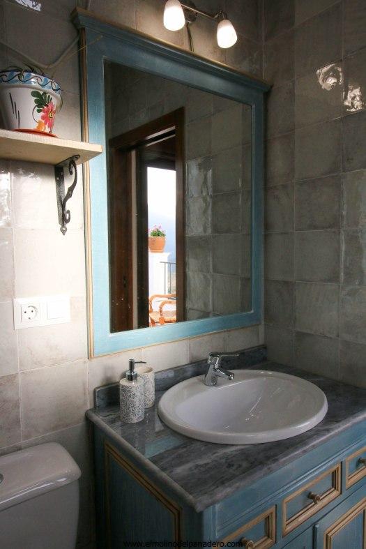 casa recentar baño