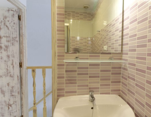 casa martijin casa recentar el molino del panadero casa rural jimera de libar ronda malaga spain baño espejo