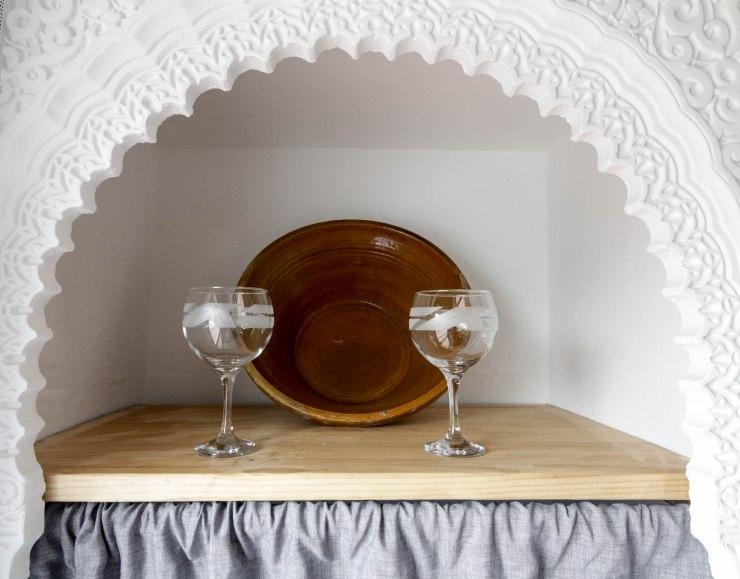 casa martijin casa recentar el molino del panadero casa rural jimera de libar ronda malaga spain cocina detalle