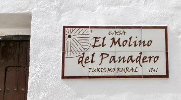 casa martijin casa recentar el molino del panadero casa rural jimera de libar ronda malaga spain letrero 3