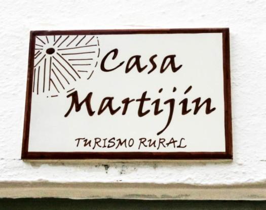 casa martijin casa recentar el molino del panadero casa rural jimera de libar ronda malaga spain letrero