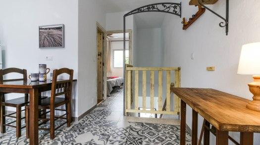 casa martijin casa recentar el molino del panadero casa rural jimera de libar ronda malaga spain salon puerta cerrada