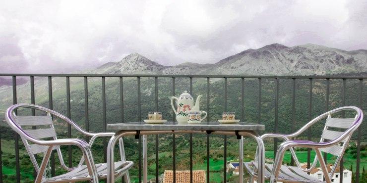 casa martijin casa recentar el molino del panadero casa rural jimera de libar ronda malaga spain vistas terraza 1